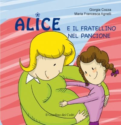 Alice e il fratellino nel pancione