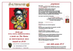 Libri a cena a Torino