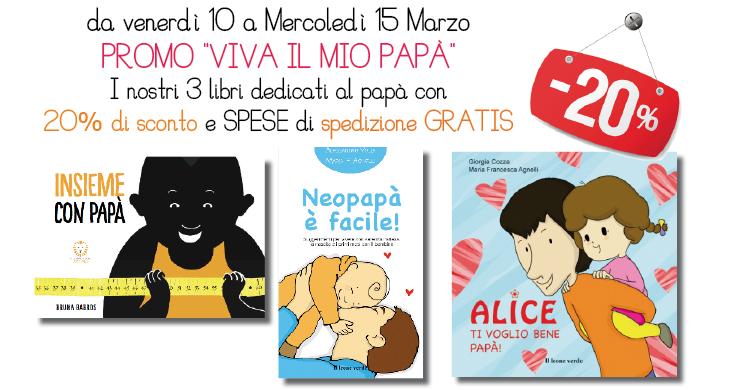 Libri per la FESTA del PAPÁ! 20% di sconto e spedizioen GRATIS!!!