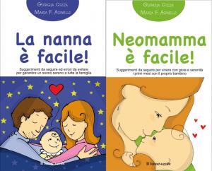 Due nuovi libri tascabili sul sonno del bambino e i primi mesi con lui