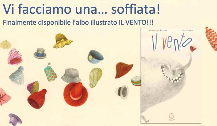 Il vento, il nuovo albo di Alessandro Riccioni illustrato da Simone Rea