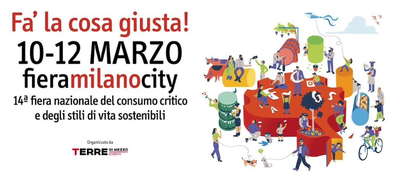 I libri del Leone Verde alla fiera Fa' la cosa giusta di Milano!