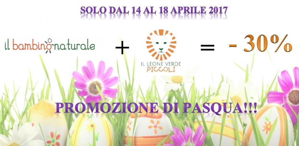 Promo di Pasqua: -30% se acquisti Bambino Naturale insieme a Leone Verde Piccoli!!!