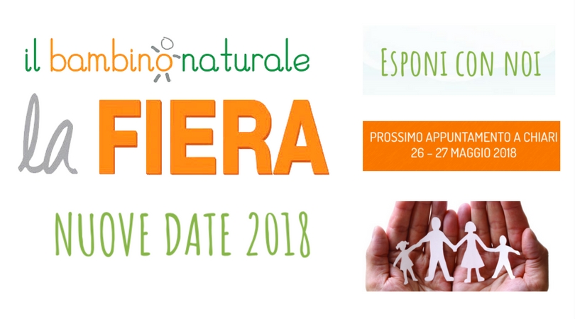 Fiera del Bambino Naturale: prossimo appuntamento 26-27 maggio a Chiari (BS)