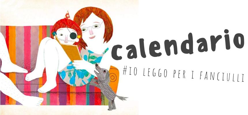 Il calendario di #io leggo per i fanciulli