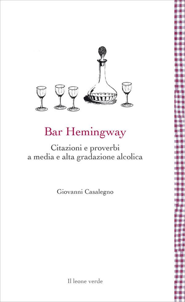 Libro Bar Hemingway