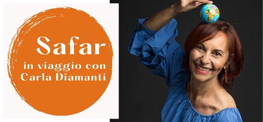 """""""Safar"""": il nuovo modo di viaggiare con la tour coach Carla Diamanti"""